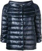 Herno quilted metallic jacket
