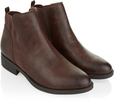 Monsoon Electra Simple Flat Chelsea Boot