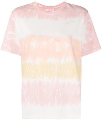 See by Chloe tie-dye crew-neck T-shirt