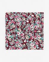 Le Château Floral Print Cotton Pocket Square