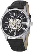 Stuhrling Original Mens Black Strap Watch-7329.02