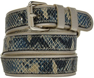 Josie Nooki Design Belt Gunmetal