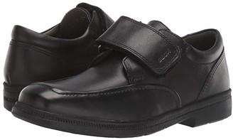 Geox Kids Jr Federico 4 (Big Kid) (Black Oxford) Boy's Shoes