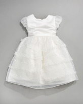 Joan Calabrese Tiered Organza Dress