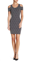 Jessica Simpson Mara Cold Shoulder Bodycon Dress
