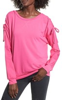 Socialite Women's Cinch Sleeve Sweatshirt