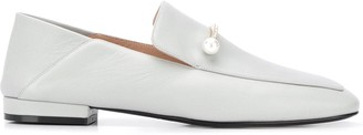 Coliac Pearl Bar Loafers