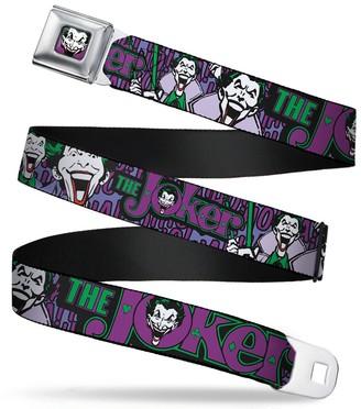 Buckle Down Buckle-Down Men's Seatbelt Belt Joker Kids