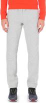 HUGO BOSS Marl cotton-blend jogging bottoms