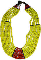 One Kings Lane Vintage Antique Tibetan Naga Glass Necklace