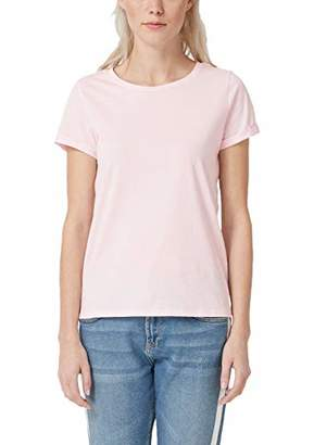 Q/S designed by Women's 45.899.32.5230 T-Shirt,Small