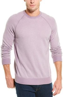Vince Birdseye Wool & Cashmere-Blend Sweater