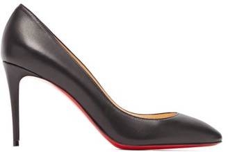 Christian Louboutin Eloise 85 Leather Pumps - Womens - Black