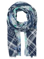 Jeanswest Haley Scarf-Deep Iris Multi-00