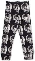 Nununu Kids X-Ray Skull Leggings