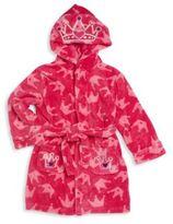 Petit Lem Girl's Long Sleeve Hooded Coat