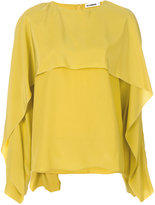 Jil Sander - layered blouse