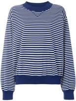 Sofie D'hoore striped loose fit sweatshirt