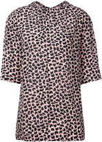 Marni geometric print blouse - women - Silk - 42