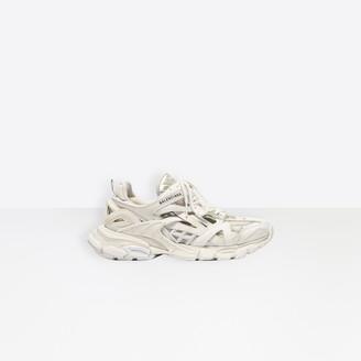 Balenciaga Track.2 in white mesh and nylon