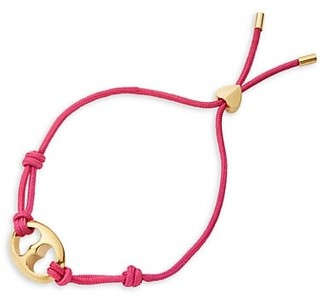 Kate Spade Goldplated Duo Heart Link Cord Toggle Bracelet