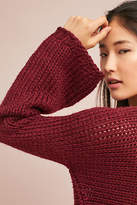 Harlyn Ruby Bell-Sleeved Pullover