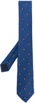 Gucci panthers patterned tie - men - Silk/Cupro/Wool - One Size