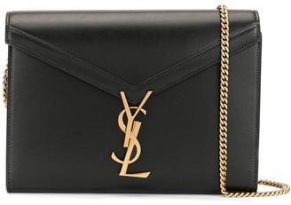 Saint Laurent Cassandra chain wallet