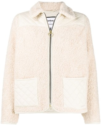 Barbour Zipped Shearling Jacket