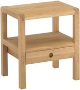 Radius 1 drawer bedside table