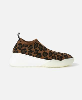 Stella McCartney Loop Leopard Sneakers, Women's