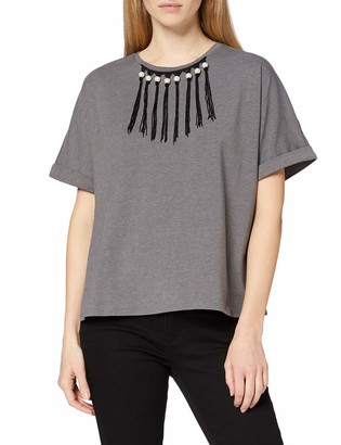 Find. Amazon Brand Women's Oversized Crew Neck T-Shirt
