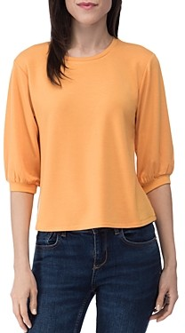 Baobab Collection Audre French Terry Puff-Sleeve Top