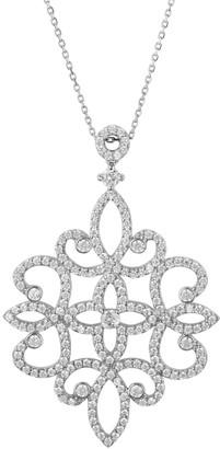 Latelita Sherazade Large Pendant Necklace Silver