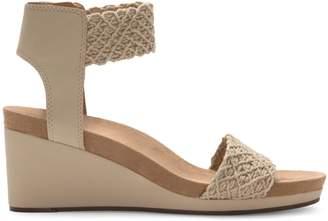Lucky Brand Kierony Cork Wedge Sandal