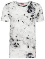 Hugo Boss Durn Cotton Burnout T-Shirt M White