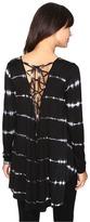 Culture Phit Ginevra Long Sleeve Tie-Dye Top