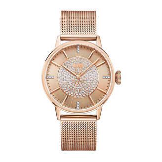 JBW Belle 1/8 C.T. T.W. Diamond Womens Rose Goldtone Bracelet Watch-J6339b