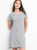 Gap Stripe twist-back t-shirt dress
