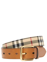 Burberry Mark Square Buckle Belt