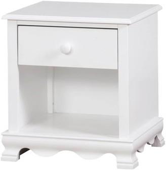 Furniture Of America Crista Nightstand in White