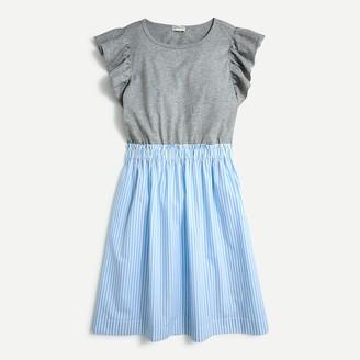 J.Crew Girls' striped cotton dress