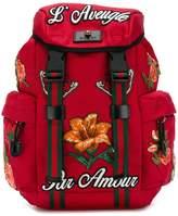 Gucci applique detail Techpack