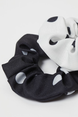 H&M 2-Pack Large Scrunchies