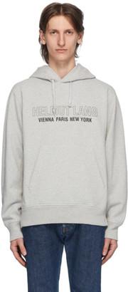Helmut Lang Grey Standard Hoodie