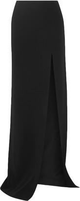David Koma Side-split Cady Maxi Skirt