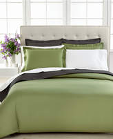 Charter Club CLOSEOUT! Bedding, Damask Solid 500 Thread Count Pima Cotton Duvet Cover, Created for Macy's