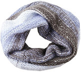 Betsey Johnson Crystal Light Knit Snood