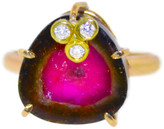 Mabel Chong - Mini Watermelon Tourmaline Ring