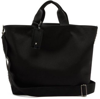 Valentino Rockstud Technical-canvas Tote Bag - Black